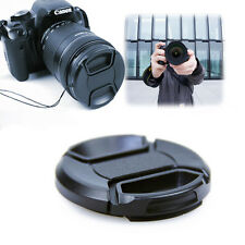 55mm Front Lens Cap Hood Cover Snap-on For Canon Sony Olympus Nikon Camera Cheap