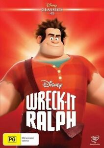 WRECK-IT-RALPH (Disney) DVD region 4 BRAND NEW & SEALED!