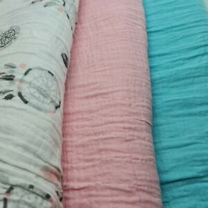 """Muslin 100% Cotton Lightweight Breathable Fabric