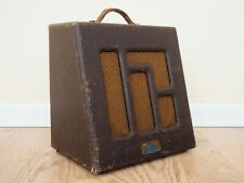 1947 Magnatone Troubadour M-192-5 Vintage Tube Guitar Amp 1x12, First Year Model