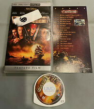 Pirates of the Caribbean Curse of the Black Pearl PSP UMD Video in Original Case