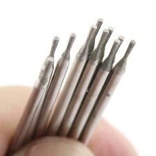 20pcs 1mm INVERTED CONICAL Diamond Grinding Head Needle Lapidary Carving Tools