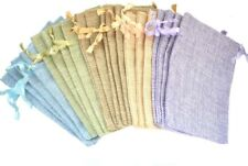 20Pcs Drawstring Bags, Reusable Linen Gift Bag, Sachet Pouch for Gift Package