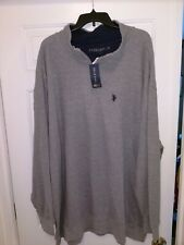U.S. Polo Association Pullover Sweater Men's 3XL Gray