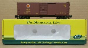 S-Helper 00582 Chicago Great Western (Brown) Boxcar #5750 NIB S-Gauge/Scale