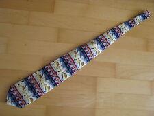 Trend Corner Herren Krawatte witziges Sport Motiv bunt 145 cm lang 9,5 cm breit