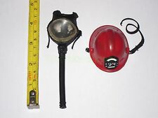 "1/6 Scale Fireman Helmet & Mask for 12"" Action Figure"