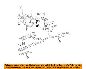 GM OEM Exhaust-Cross Over Pipe Flange 3545517