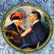 """Vintage Knowles Limited Edition Collector Plate. Norman Rockwell """"Loves Reward"""""""