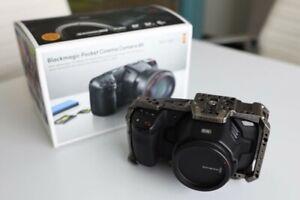 Blackmagic CINECAMPOCHDEF6K Design Pocket 6K Cinema Camera
