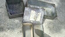 3 vintage Industrial Metal Drawers Trays Storage Shelves Planter Retro