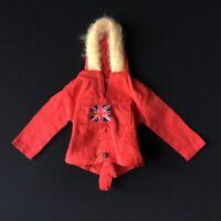 Action Man Polar Explorer 1970s red anorak top vintage Palitoy 35001 doll 1:6
