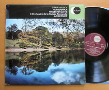 ECS 508 Stravinsky Petrushka Firebird Suite Ansermet EX/VG Decca Stereo LP