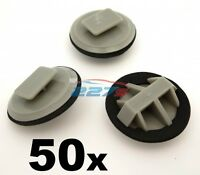 50x Plastic Trim Clips for Mazda Sill Moulding / Rocker Cover Trim Clips