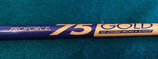 """UST Proforce 75 Gold Tip Stable Iron Graphite Shaft - Stiff Flex - 40"""""""