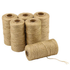 00016 NOS 200/' DURALINE HEAVY WEIGHT ALL-PURPOSE TWISTED JUTE TWINE