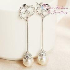 Pearl Diamond (Imitation) Fashion Earrings