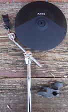 "Alesis DMPad 12"" Dual-Zone Cymbal w/Choke, boom mount and Roland clamp"