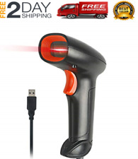 Handheld USB Barcode Scanner Wired Automatic 1D Bar Code Reader