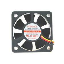 EverCool EC5015M12CA 50mm x 15mm Ball Bearing Fan, 3Pin
