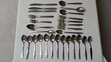 28 Piece Mixed Lot Stainless Steel Flatware