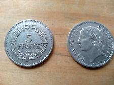 5 FRANCS LAVRILLIER ALU 1935 BEL ETAT