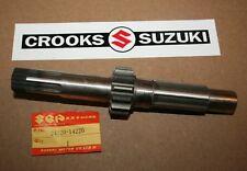 NOS 24120-14220 Genuine Suzuki RM465 14T Clutch Countershaft