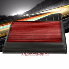 Reusable Red High Flow Drop-In Air Filter For Mustang 10 4.6L/11-14 3.7/5.0L