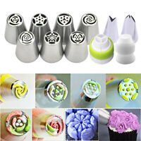 7Pcs Flower Russian Icing Piping Nozzles Pastry Tips Cake Decorating BakingHNJ