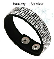 Diamante Swarovski Elements Rhinestone Sparkle Bracelet by Harmony Bracelets