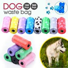 New Dog Poo Bag Pet Waste Poop Pick Up Biodegradable Garbage Bags Bone Dispenser