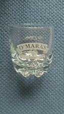 "New listing Omara'S Irish Country Cream Whiskey Tumbler wth Etched Pat O'Mara signature 4""T"