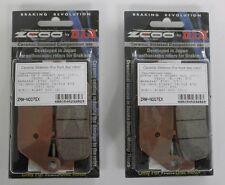 ZCOO 2 COPPIE PASTIGLIE FRENO ANTERIORE EX PER HONDA CB FOUR 400 1997