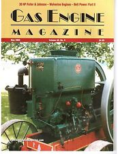 Wolverine Motor Works, 20 HP Fuller & Johnson, Wisconsin Gas Engine Companies