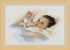 Baby Infant Child Cross Stitch Kit 26 x 18cm Luca S G385