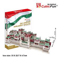 New Magyar Parliament Epulete Hungarian 3D Model Jigsaw Puzzle 237 Pieces MC111H