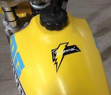 VINTAGE Yamaha Hannah bolt decal sticker  YZ  OW Works AHRMA 125 250 360 400 465