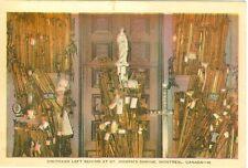Montreal, QC Canada, Oratoire Saint Joseph, Crutches Left Behind