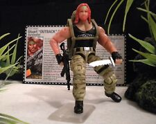 GI JOE ~ 2008 OUTBACK  ~ ONLINE EXCLUSIVE DTC ~ 100% COMPLETE JUNGLE SPECIALIST