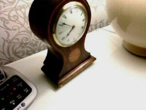 QUALITY8DAY FRENCH BALOON CLOCK EARLY 1900  11JEWEL SWISS  PLATFORM G.R.C