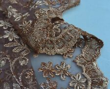 Embroidered French Lace, 'Broderie Colorée C' (per metre) dress fabric