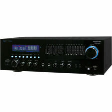 Technical Pro Rx55Uribt 1500W Pro Audio Receiver w/ Bluteooth +Usb/Sd+ 7-Band Eq