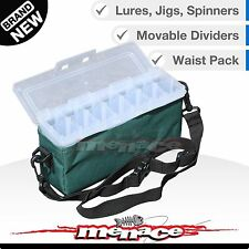 Panaro Spinner Bait Fishing Tackle Box Shoulder Waist Strap for Lure & Jigs
