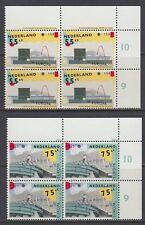 Niederlande 1987 ** Mi.1318/19 A Bl/4 Architektur architecture modern  [st2371]