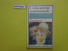 J 5100 LIBRO L'EDUCAZIONE SENTIMENTALE DI GUSTAVE FLAUBERT 1966