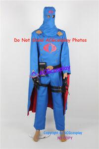 G.I.Joe cosplay Cobra Commander Cosplay Costume include pvc prop parts