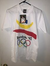 Original Vintage 1992 Olympics Barcelona Jc Penney Exclusive T Shirt Nwt Small