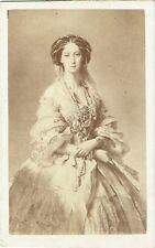 Photo cdv : E.Desmaisons ; Marie-Alexandrovna , Impératrice de Russie vers 1867