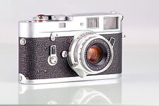 LEICA LEITZ WETZLAR M4 CLASSIC + SUMMICRON 2/35 8 ELEMENTS SET BOXED NEAR MINT