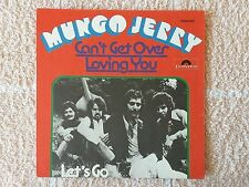 """Vinyl-7""""-Cover # nur Cover # Mungo Jerry # Can´t Get Over Loving You # m-"""